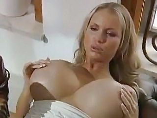 Amazing Big Tits European German MILF Pornstar Silicone Tits