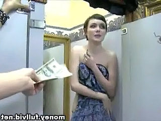 Amateur Bathroom Cash Teen