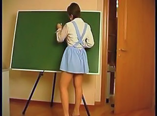 Russian School Skirt Teen Young