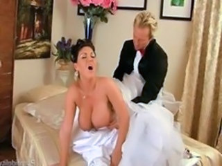 Big Tits Bride Doggystyle Hardcore MILF Natural