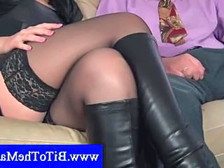 Latex Mature Stockings