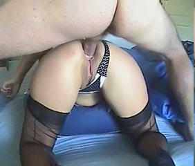 Anal Doggystyle Panty Stockings