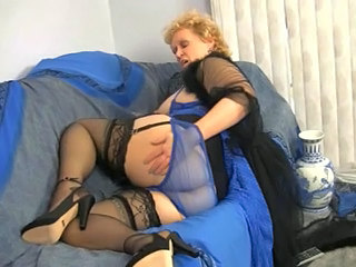 Granny Lingerie Solo Stockings