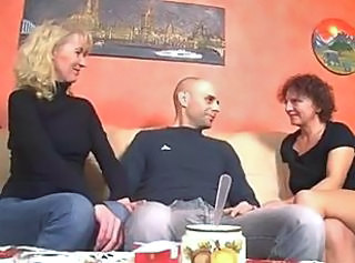 German Mature Pornstar Threesome