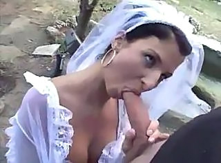 Blowjob Brunette French Outdoor Wife