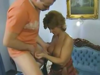 European German Mature Natural Redhead Vintage