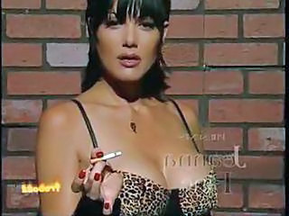 Amazing Cute MILF Smoking Vintage