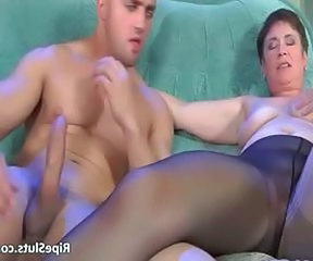 Mature Old and Young Pantyhose