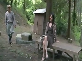 Asian Japanese MILF Outdoor