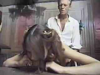 Daddy Daughter Doggystyle Old and Young Teen Vintage Young