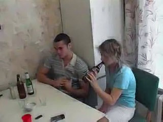 Amateur Drunk Kitchen Russian Teen