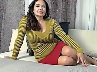 Amazing Brunette Mature