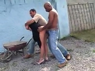 Anal Clothed Forced Hardcore Outdoor Threesome