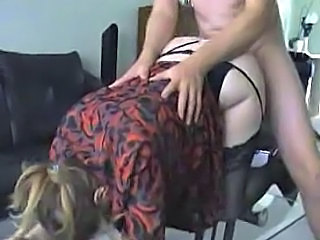 Clothed Doggystyle Hardcore MILF Stockings