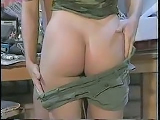 Army Ass Stripper Vintage