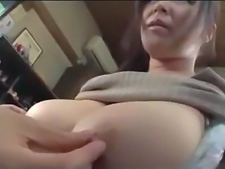 Asian Big Tits Japanese MILF Natural Nipples