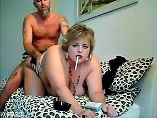 BBW Doggystyle MILF Natural Smoking