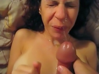 Amateur Cumshot Facial Homemade MILF Pov Wife
