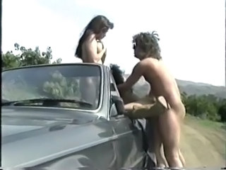 Car Hardcore MILF Outdoor Threesome Vintage