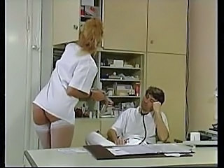 Doctor European German MILF Stockings Uniform