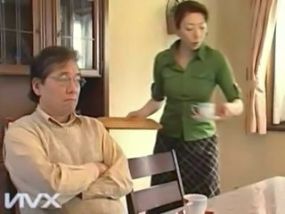 Asian Japanese Kitchen Mature Older Wife