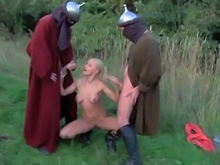 Fantasy Handjob Outdoor Teen Threesome