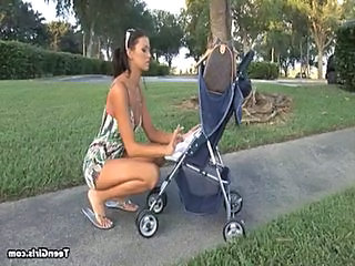 Amazing MILF Outdoor