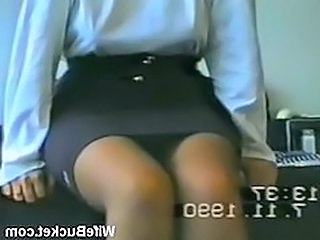 Amateur Stockings Upskirt Vintage