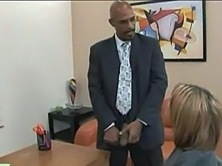 Big cock Interracial Office Pornstar Secretary