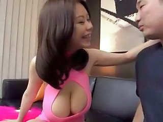Natural Japanese Big Boob Teen