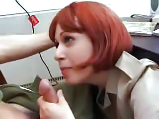 Amateur Blowjob Office