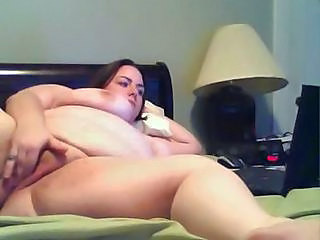 BBW Masturbating MILF Webcam