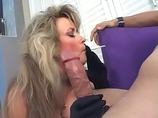 Big cock Blowjob Mature Smoking