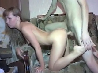 Doggystyle Homemade Skinny Small Tits Teen