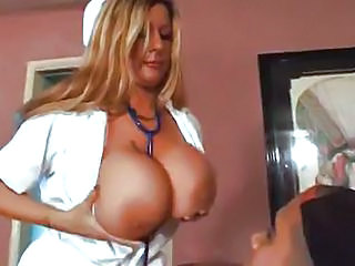 Big Tits MILF Nurse Uniform
