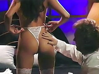 Ass Brunette Panty Stockings Vintage