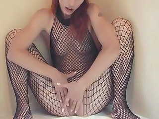 Amateur European Fishnet German MILF Small Tits