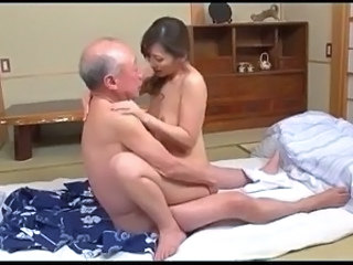 Asian Daddy Daughter Japanese Old and Young Young
