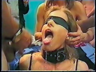 Cumshot Facial Fetish Slave Swallow