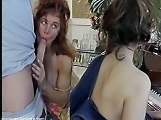 Blowjob MILF Threesome Vintage