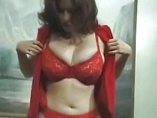 Amateur Lingerie MILF Stripper