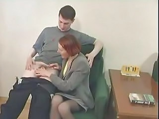 Amateur Handjob Mature Old and Young Redhead Small cock Stockings