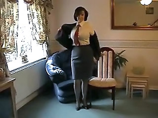 MILF Stockings Stripper