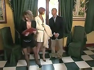 European French Mature Threesome