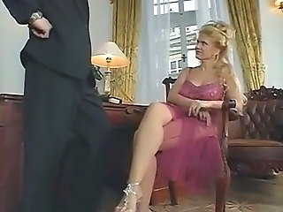 Blonde Legs Mature MILF