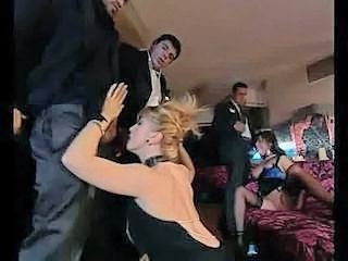 European Groupsex Italian MILF Orgy Party