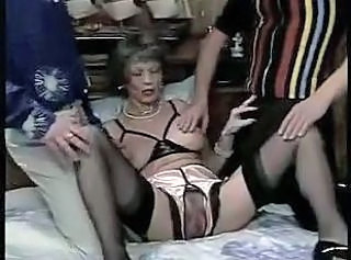 Anal Facial Fisting Mature Stockings