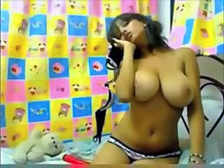 Amazing Big Tits Natural Solo Teen Webcam