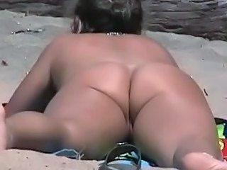 Ass Beach Nudist Voyeur
