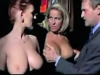 Big Tits European Italian MILF Threesome